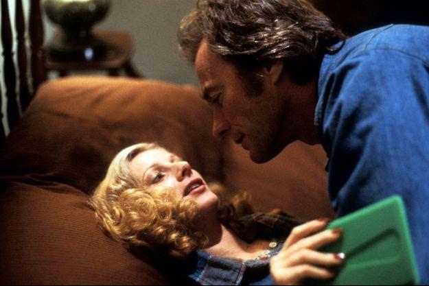 """Sondra Locke et Clint Eastwood dans """"Bronco Billy""""."""