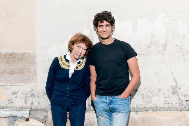Anne Wiazemsky et Louis Garrel