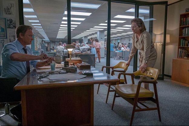 Tom Hanks et Meryl Streep dans «The Post», de Steven Spielberg.