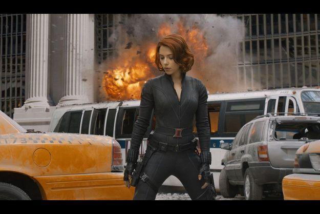 """Scarlett Johansson dans """"Avengers""""."""