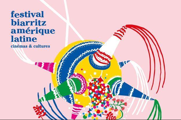 L'affiche du Festival Biarritz Amérique Latine.