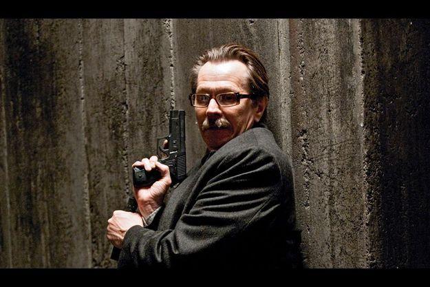 Gary Oldman joue le commissaire Gordon, l'un des rares bons flics de Gotham.
