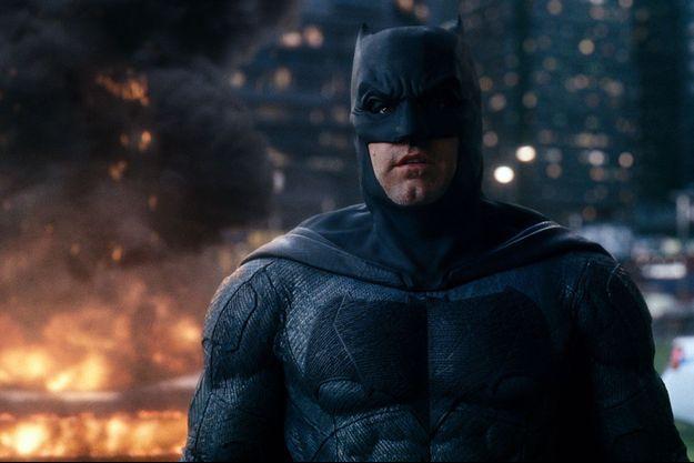 "Ben Affleck dans ""Batman versus Superman""."