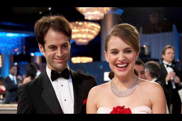 Nathalie Portman, emitouflée, et Benjamin Millepied fin janvier à New-York.