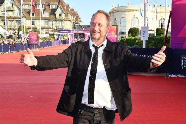 Benoît Poelvoorde à Deauville, en 2020.