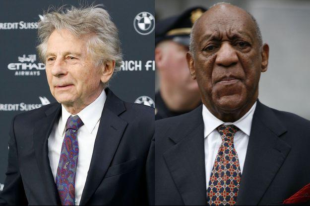 Roman Polanski et Bill Cosby.