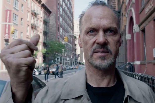 "Michael Keaton dans ""Birdman"""