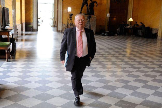 Jacques Myard à l'Assemblée nationale en avril 2013.