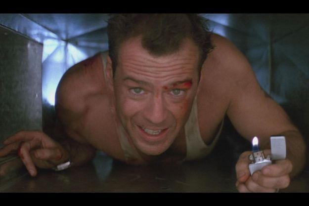 "Bruce Willis, alias John McClane, dans le premier ""Die Hard"""