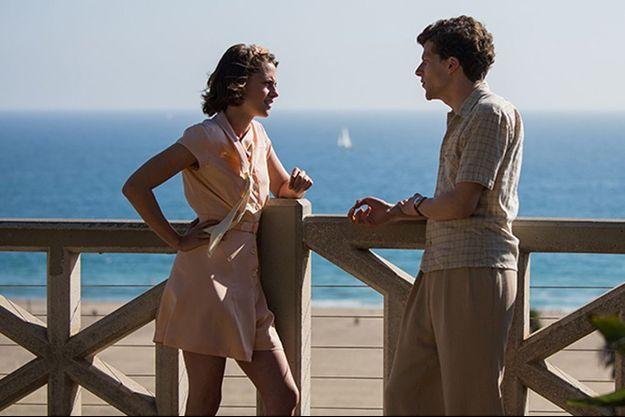 """Kirsten Stewart et Jesse Eisenberg dans """"Café Society"""""""