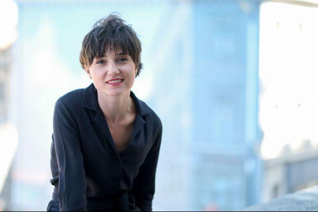 Nina Meurisse au Festival du film d'Angoulême en août 2019