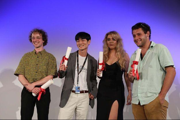 Les lauréats de la Cinéfondation 2021.