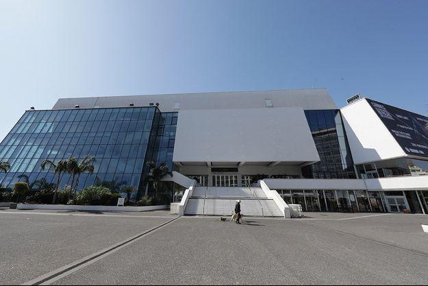 Le Palais des festivals à Cannes.
