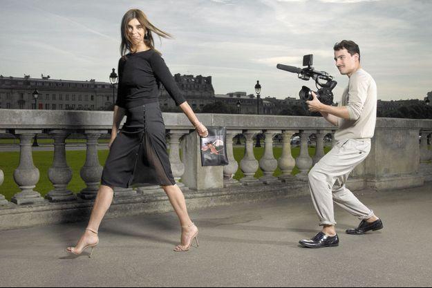 Carine Roitfeld filmée par Fabien Constant