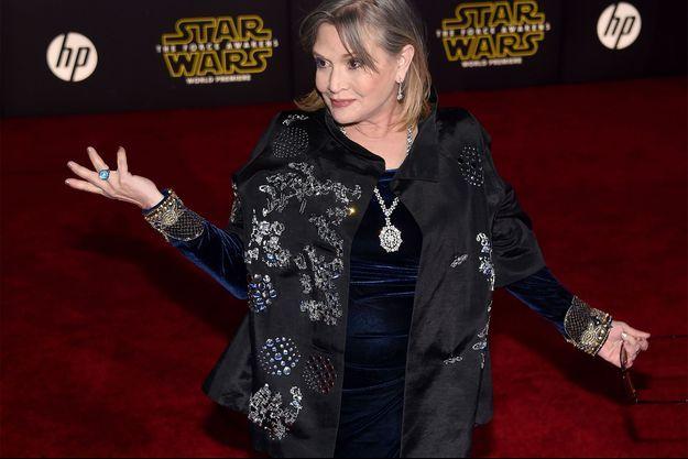 Carrie Fisher a joué un personnage mythique de la saga Star Wars.
