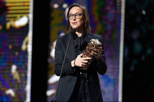 """Céline Sciamma avait obtenu le César du meilleur scénario adapté pour """"Ma Vie de Courgette""""."""