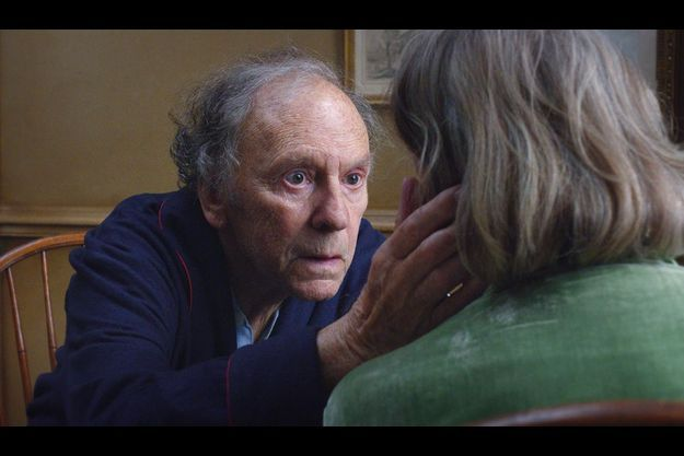 "Jean-Louis Trintignant, dans ""Amour"" de Michael Haneke."