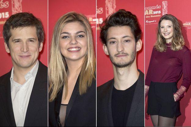 Guillaume Canet, Louane Emera, Pierre Niney et Joséphine Japy, tous nommés aux César.