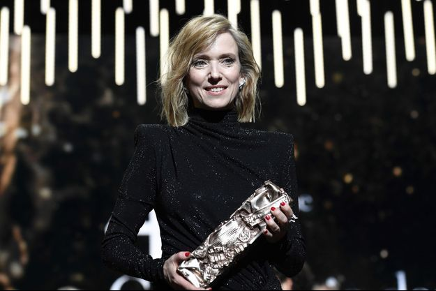 Léa Drucker a reçu le César de la meilleure actrice pour «Jusqu'à la garde».