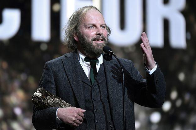 Philippe Katerine sur la scène des César.