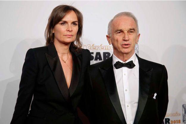 Alain Terzian et son épouse Brune de Margerie