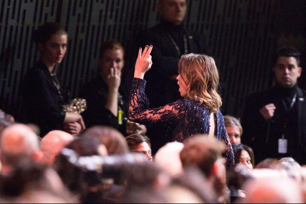 """Adèle Haenel a quitté la cérémonie des César en criant """"La honte""""."""
