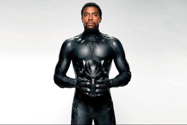 """Chadwick Boseman en """"Black Panther""""."""