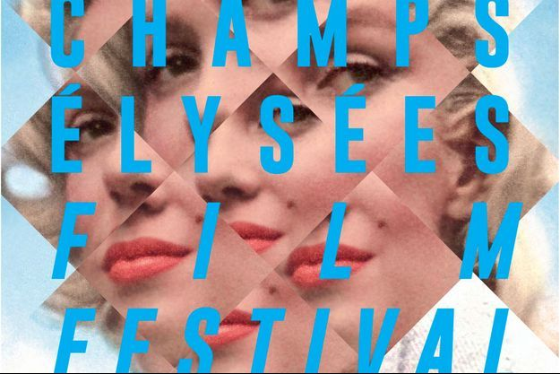 Marilyn Monroe est sur l'affiche du Champs-Elysées Film Festival
