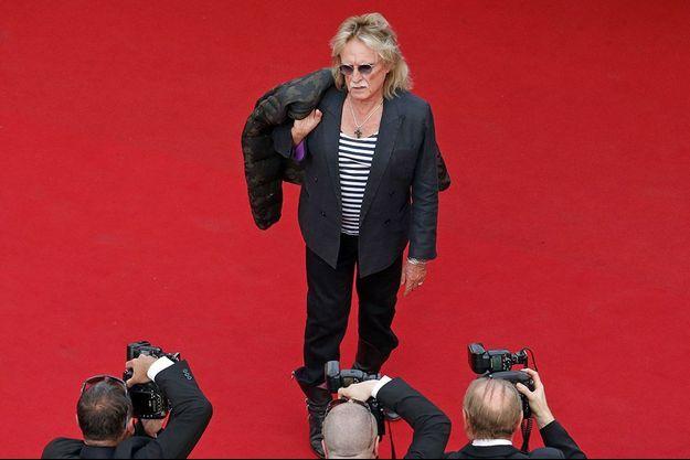 Christophe sur le tapis rouge du Festival de Cannes.
