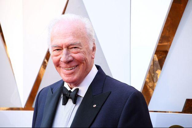 Christophe Plummer aux Oscars 2018
