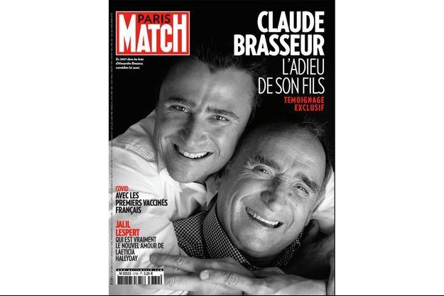 En 2007 dans les bras d'Alexandre Brasseur, comédien comme lui.