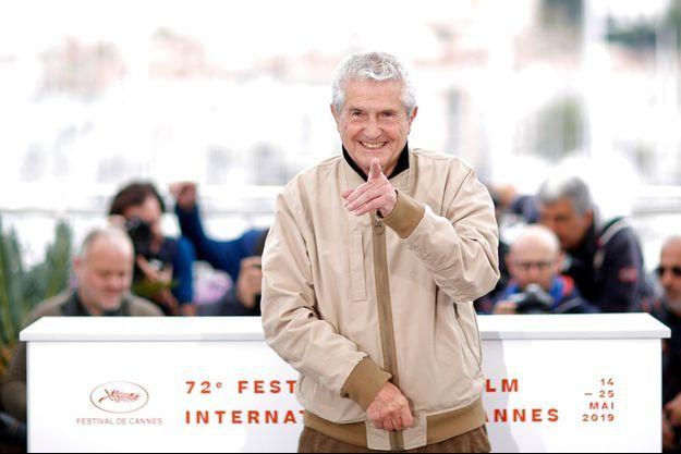 Claude Lelouch lors du Festival de Cannes 2019.