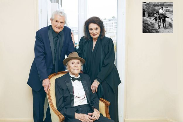 Une heure avant la montée des marches, samedi 18 mai. Le film « Les plus belles années d'une vie » de Claude Lelouch, avec Jean-Louis Trintignant et Anouk Aimée, est présenté hors compétition.