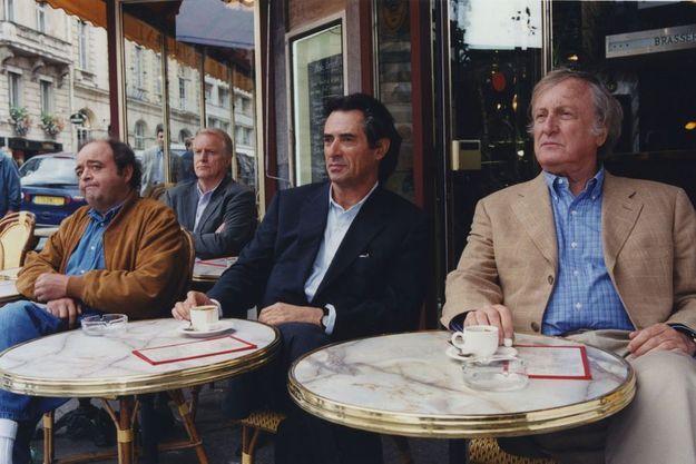 """Claude Rich (à droite), dans """"Les Acteurs"""" de Bertrand Blier"""