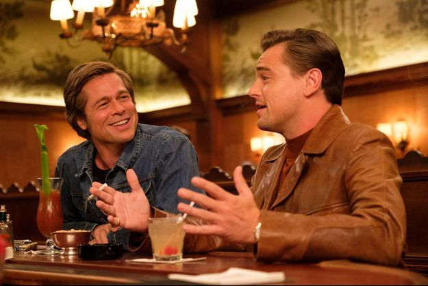 "Brad Pitt et Leonardo DiCaprio dans ""Once Upon a Time in... Hollywood"""