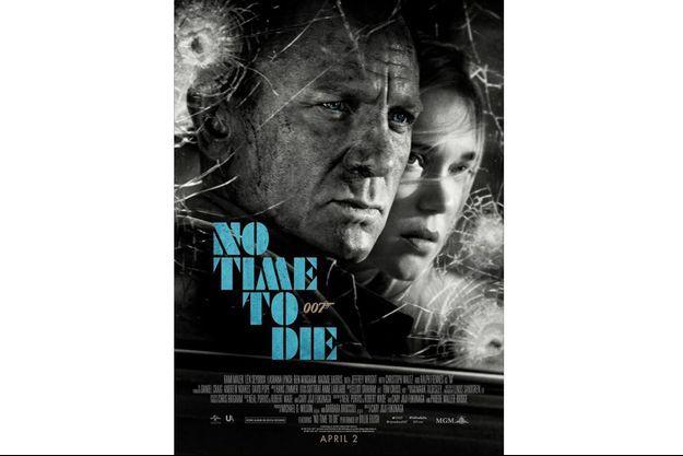 """Affiche de """"No Time To Die"""""""