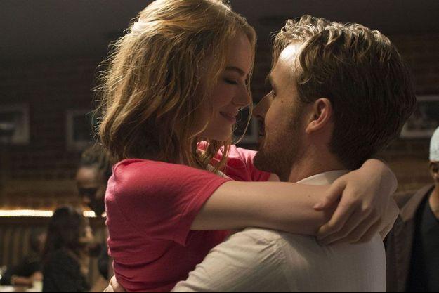 "Emma Stone et Ryan Gosling dans ""La La Land""."