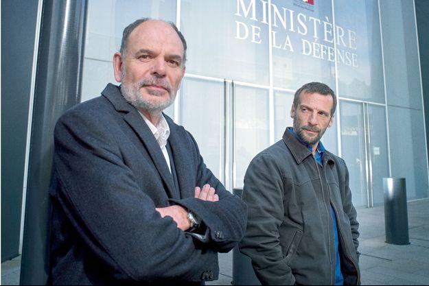 Jean-Pierre Darroussin et Mathieu Kassovitz