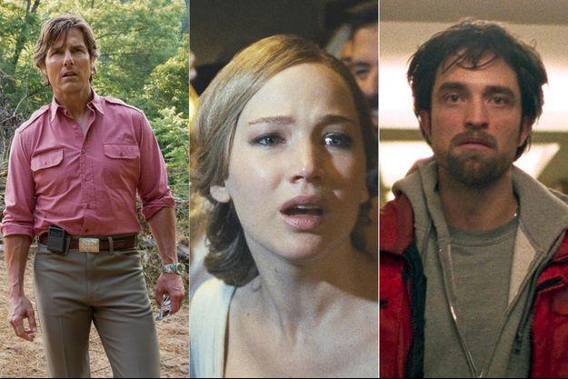"Tom Cruise dans ""Barry Seal : American Trafic"", Jennifer Lawrence dans ""Mother!"" et Robert Pattinson dans ""Good Time"""
