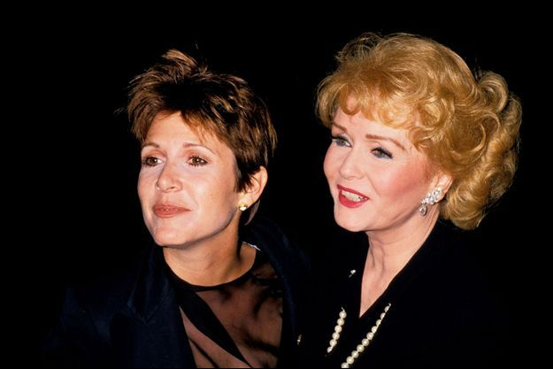 Carrie Fisher et Debbie Reynolds.