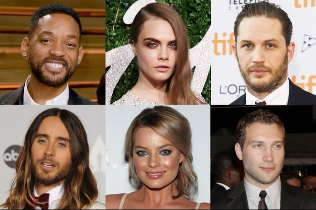 Will Smith, Cara Delevingne, Tom Hardy, Jared Leto, Margot Robbie et Jai Courtney seront les prochains super-vilains de l'univers DC