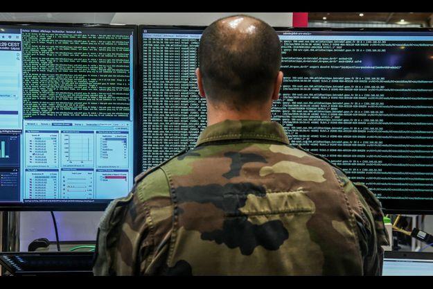 A Lille, en janvier 2018, pendant le Forum International de Cybersécurité.