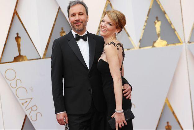 Denis Villeneuve et sa femme Tanya Lapointe.
