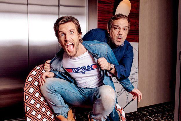 Didier Bourdon et Philippe Lacheau
