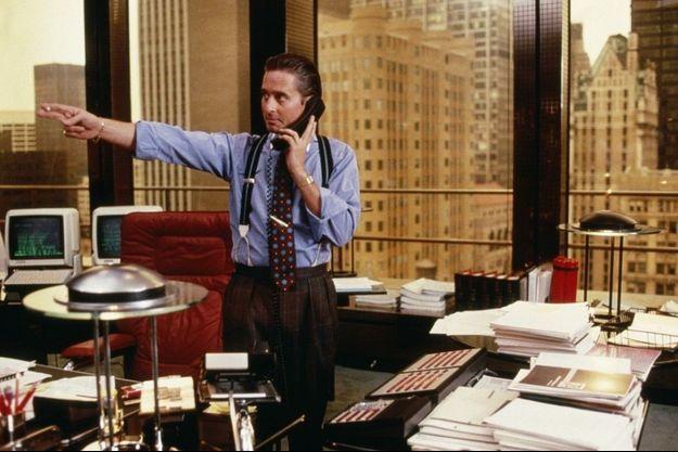 """Michael Douglas dans """"Wall Street"""""""