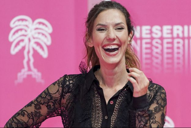 Doria Tillier en octobre 2020 à Cannes.