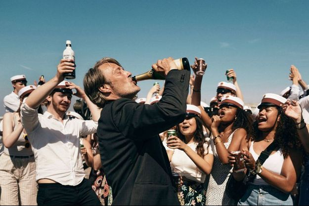 Mads Mikkelsen dans «Drunk» de Thomas Vinterberg.