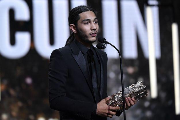Dylan Robert à la cérémonie des César 2019.