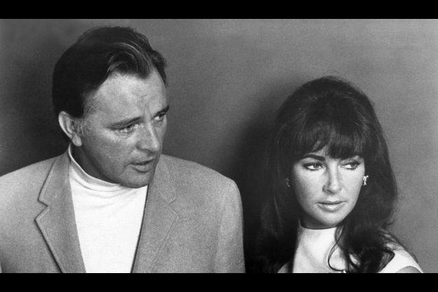 Liz Taylor et Richard Burton, l'amour de sa vie.