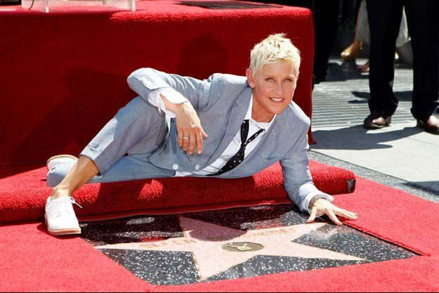 Ellen DeGeneres a son étoile sur Hollywood Boulevard